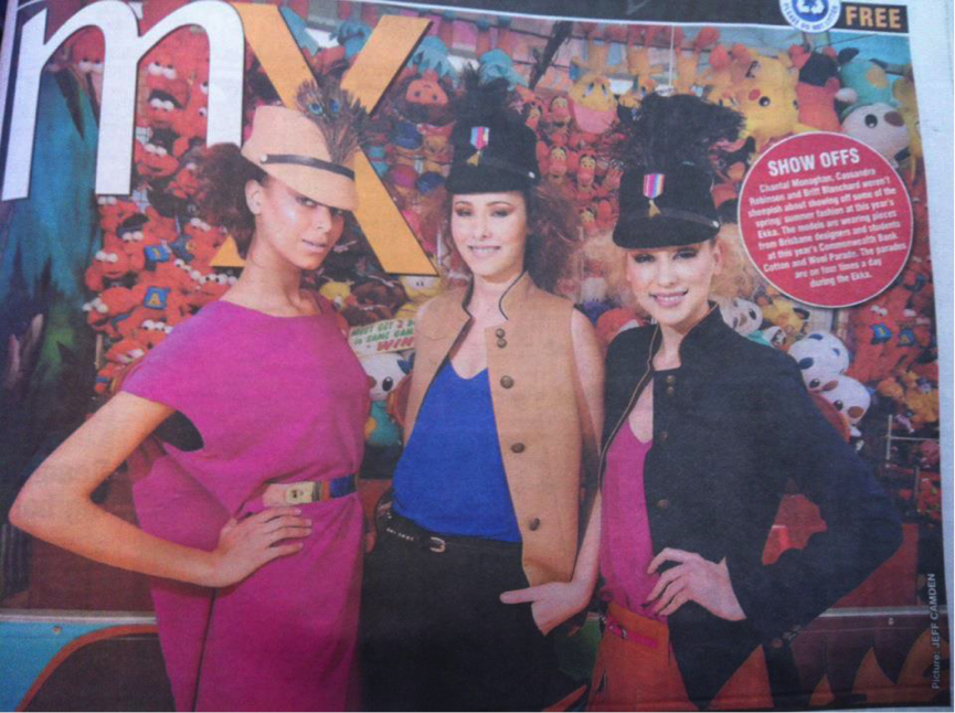 Chantal's editorial shot for the Brisbane exhibition races in News Corps, MX magazine.